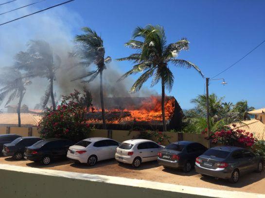 Incêndio é registrado em hotel de Beberibe