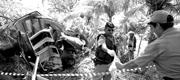 Há 11 anos: Helicóptero com equipe de Cid Gomes cai em Guaiúba