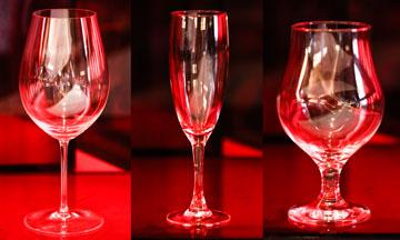 Copos e taças: seis modelos ideais para certas bebidas