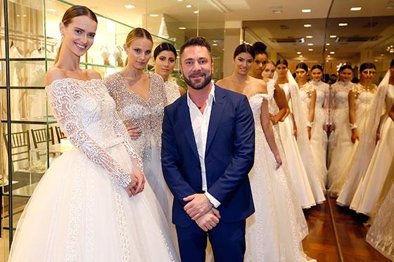Estilista Lucas Anderi apresenta tendências para noivas