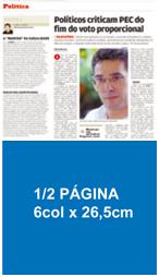 1/2 Página 6 col x 26,5 cm