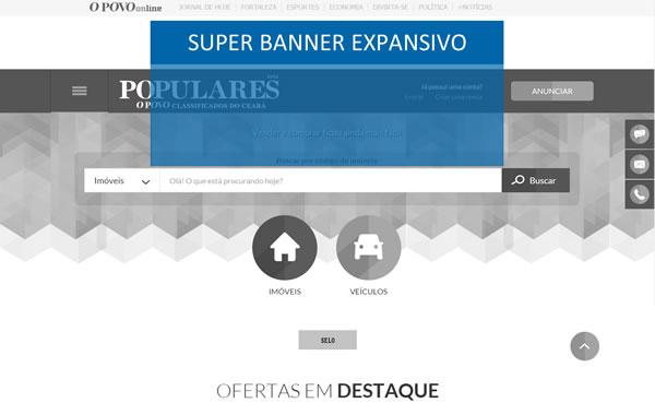 Super Banner Expansível
